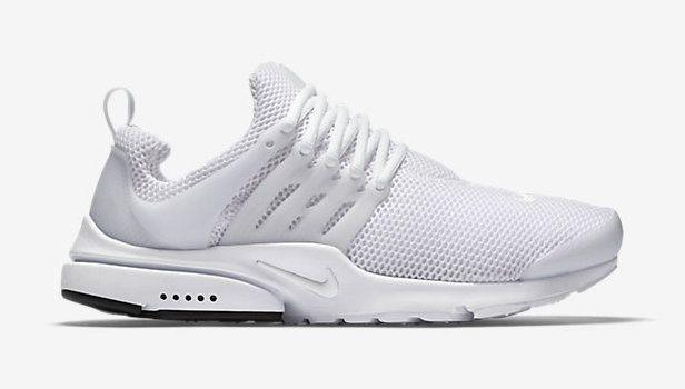 White nike shoes, Nike air presto
