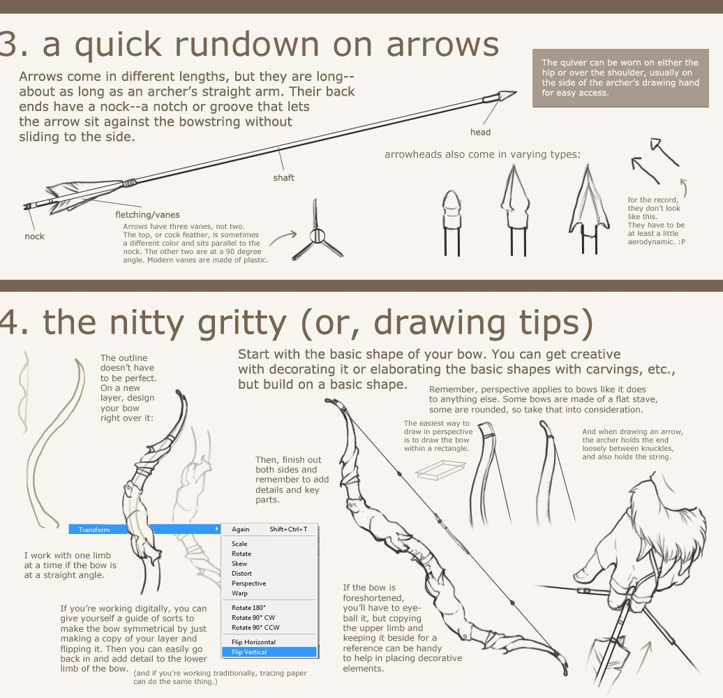bow tutorial 3 Get Recurve Bows at https://www.etsy.com/shop ...