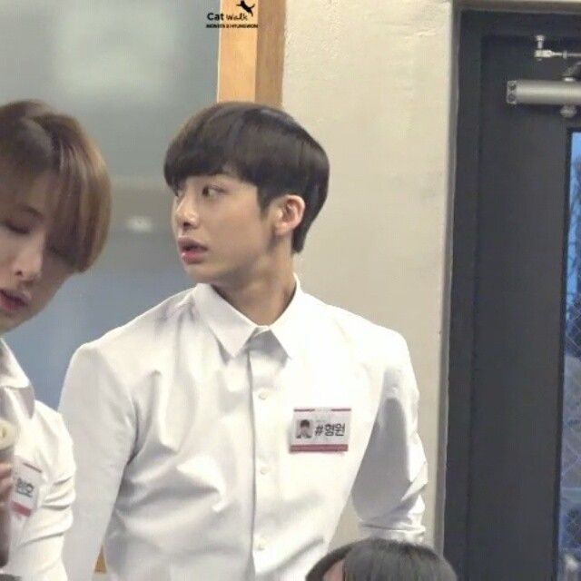 If baristas in coffee shops near our place i this handsome, istg I will apply a job there, though, I am only 15. // Hi guys! Follow my other @themonstaxfacts - #monstax #몬스타엑스 #shownu #wonho #minhyuk #kihyun #hyungwon #jooheon #changkyun #형원