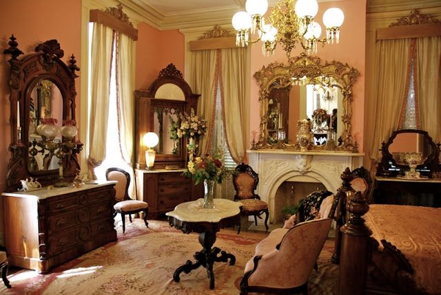 Antebellum Interiors With Southern Charm Yall  Southern Charmed  Victorian bedroom Southern