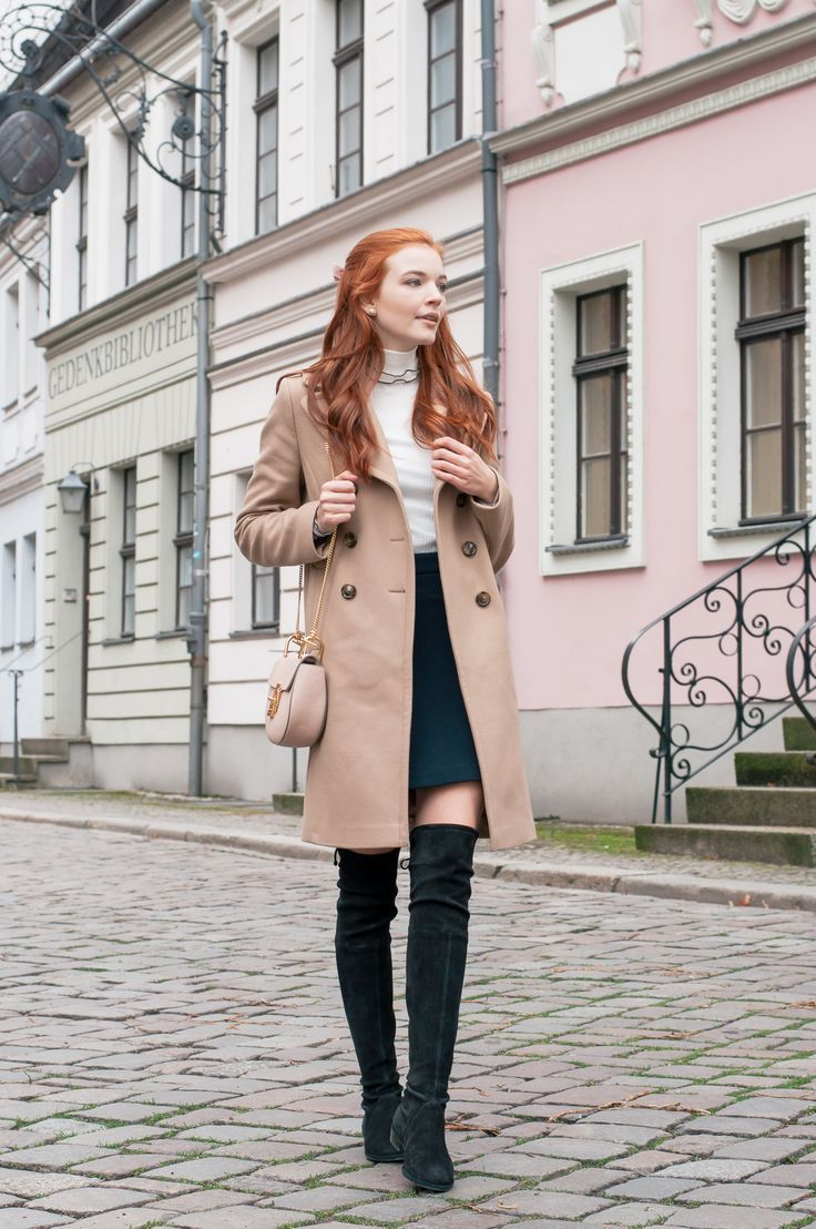 Feminine Winter Style Red hair outfits, Redhead fashion