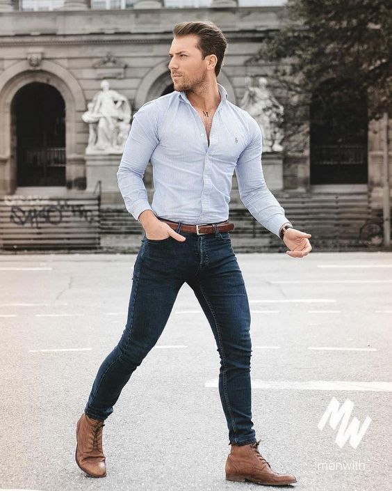 How To Feel More Confident Four Reason Why Men Should Dress Well Feelin Fresh Business Casual Men Mens Fashion Casual Outfits Stylish Mens Outfits