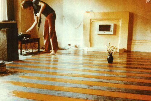 Syd Barrett at home, 1969.