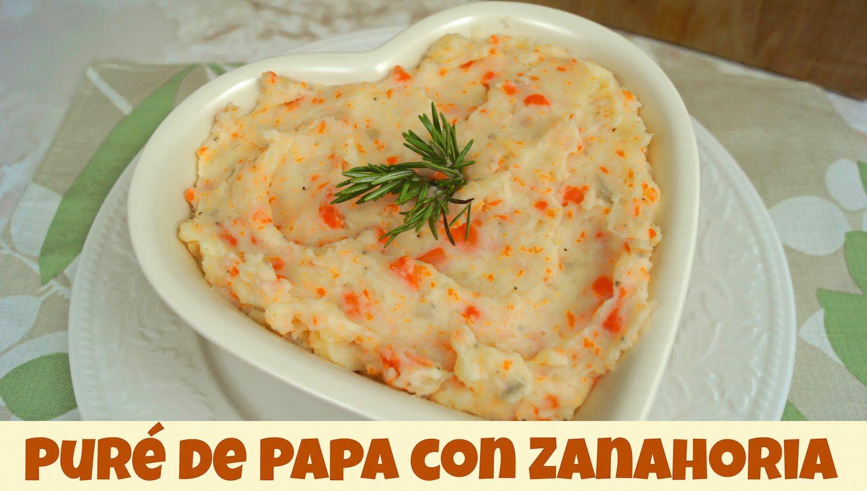 Dieta papa y zanahoria