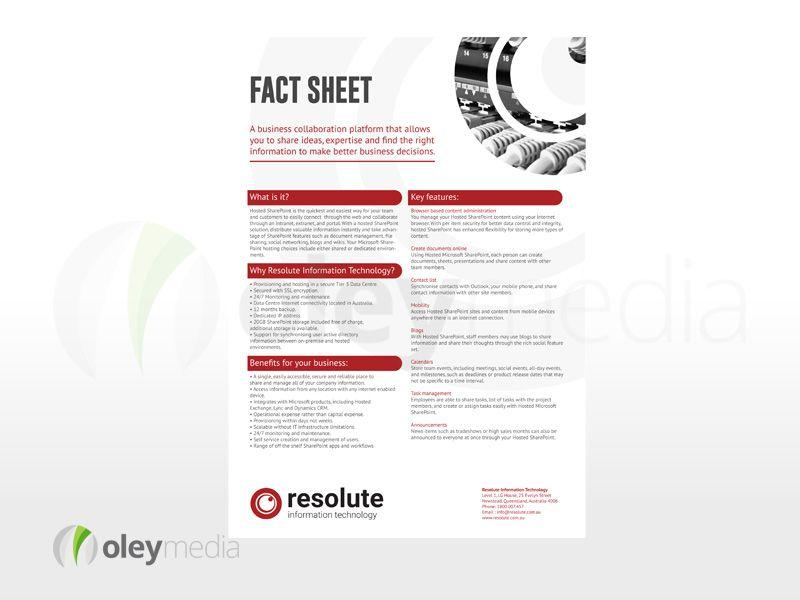 flyer sheet
