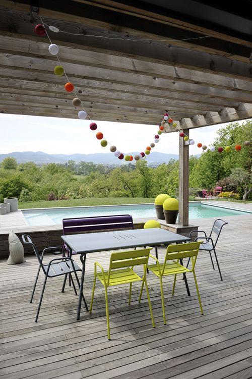 Collection Monceau - Fermob - mobilier de jardin en métal ...