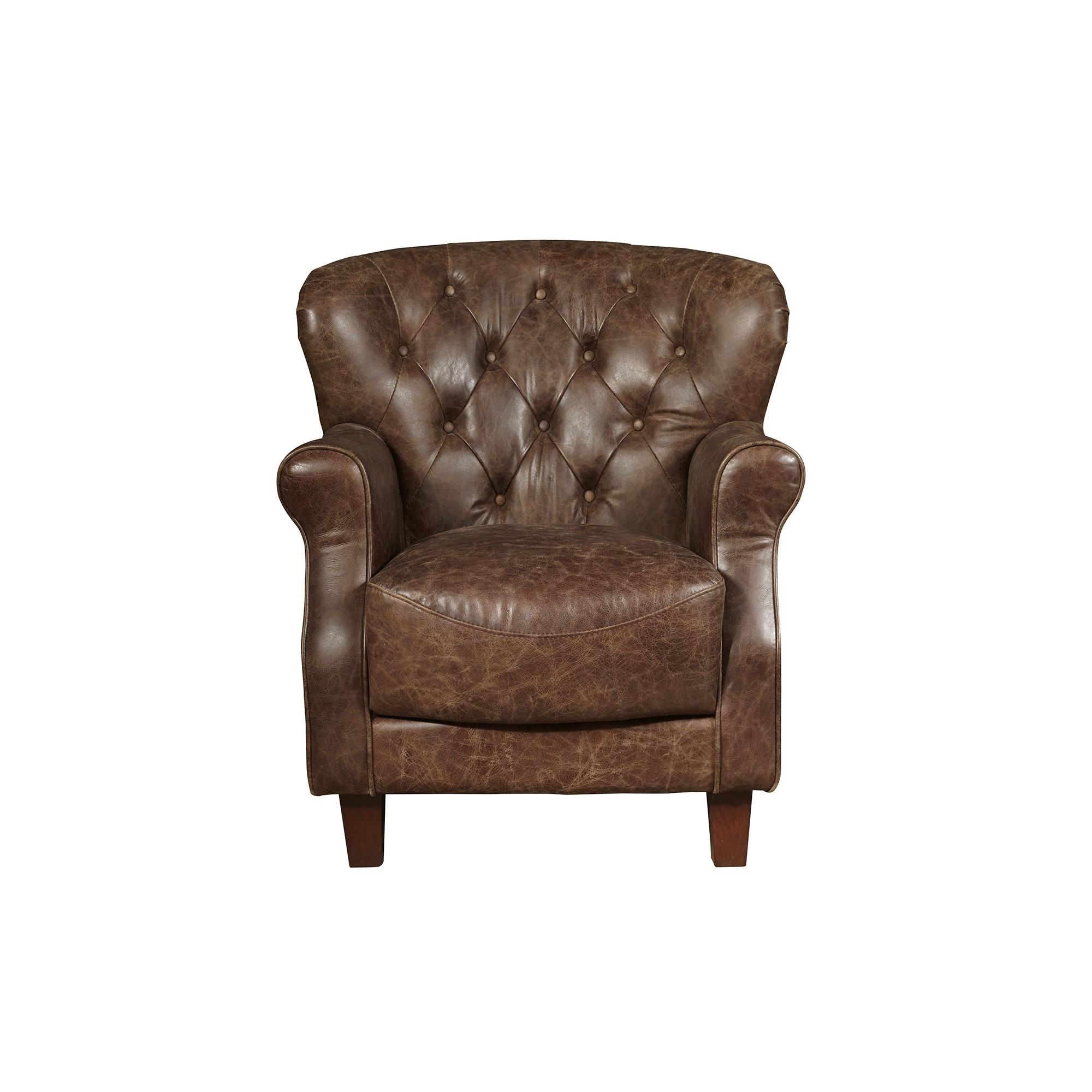 aviation tufted arm chair brown pulaski pinterest aviation rh pinterest com