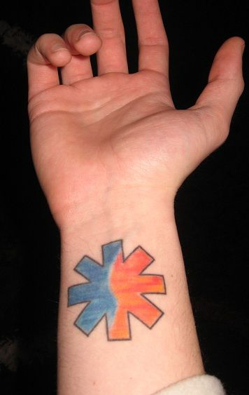 Rhcp Tattoo : tattoo, Tattoo., Kinda, Looks, Californication, Chili, Peppers, Tattoo,, Tattoos,, Tattoos, Piercings