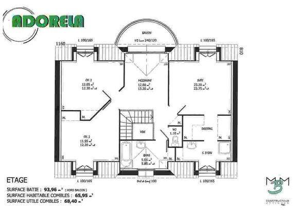 Maison Adorela - Les Maisons Barbey Maillard - 230200 E Faire