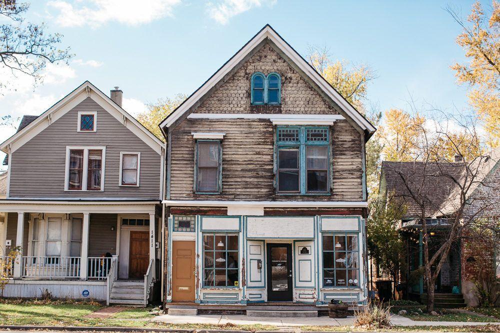 Old West Village House Becomes Neighborhood Record Shop Village Houses West Village House