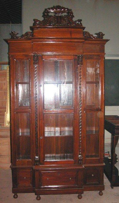autentica vetrina 39 800 siciliano antarte restauri On mobili 800 siciliano
