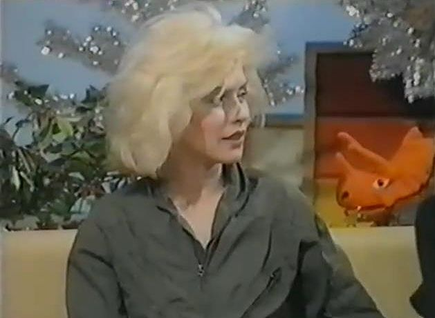 Debbie and Chris on Swap Shop 1979