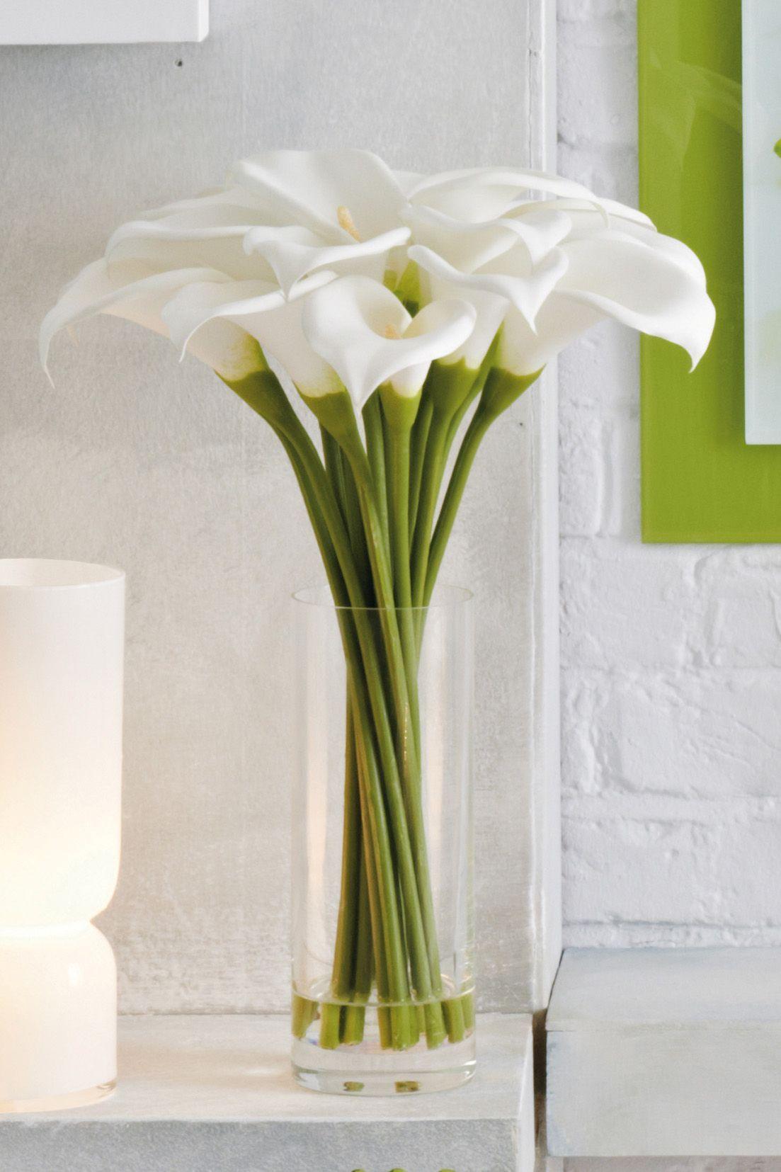 Calla Lilies by Next.co.uk Calla lily centerpieces, Fake