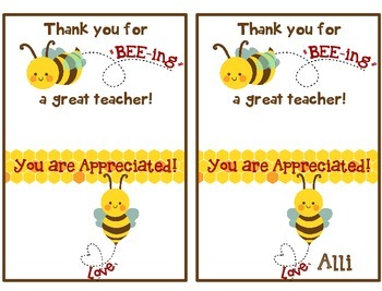 Teacher Appreciation Gift Tag For Burt S Bees Chapstick Teacher Appreciation Gifts Diy Diy Teacher Gifts Teacher Christmas Gifts