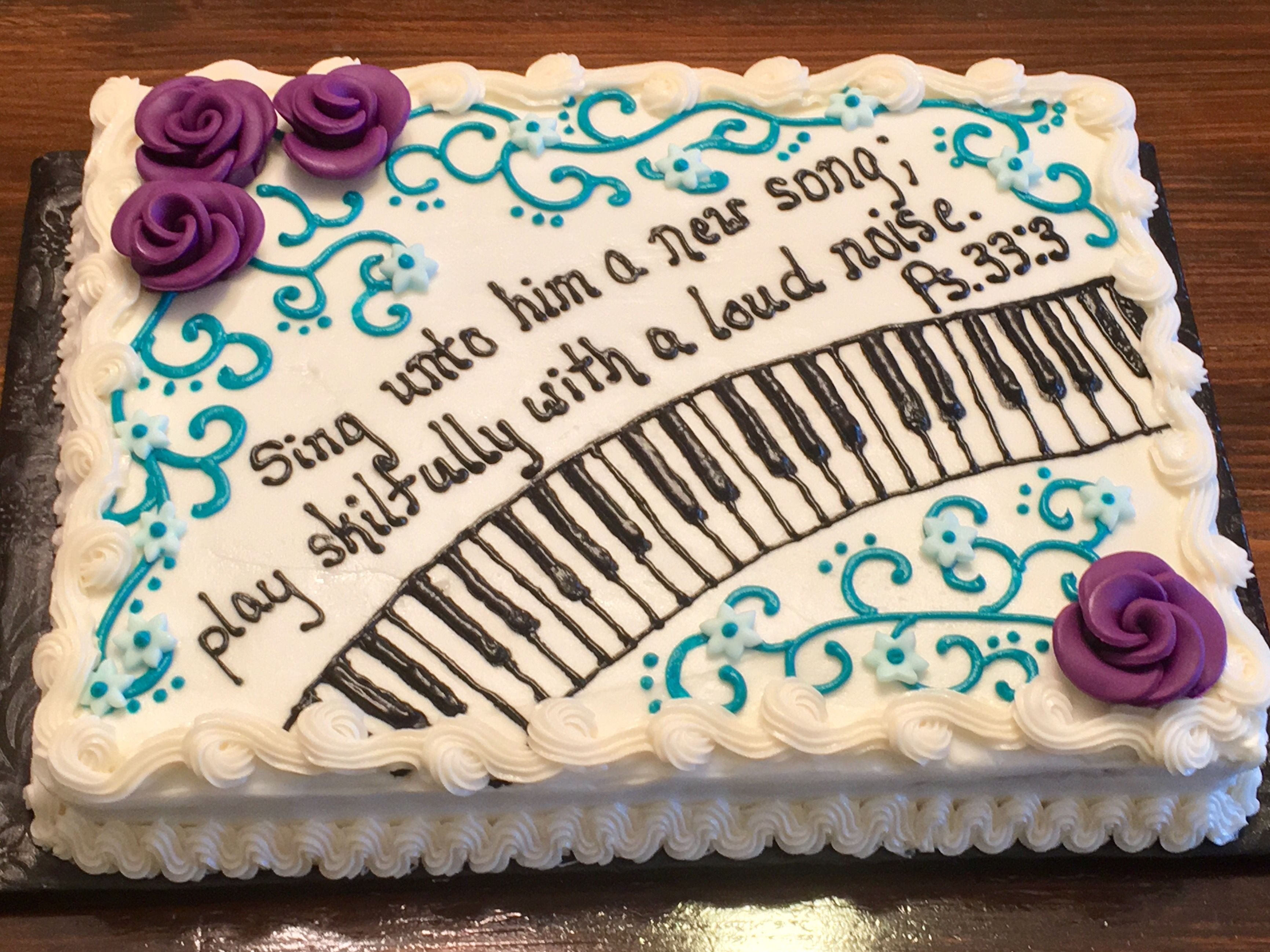 Piano Cake With Images Piano Cakes Music Cakes Dessert