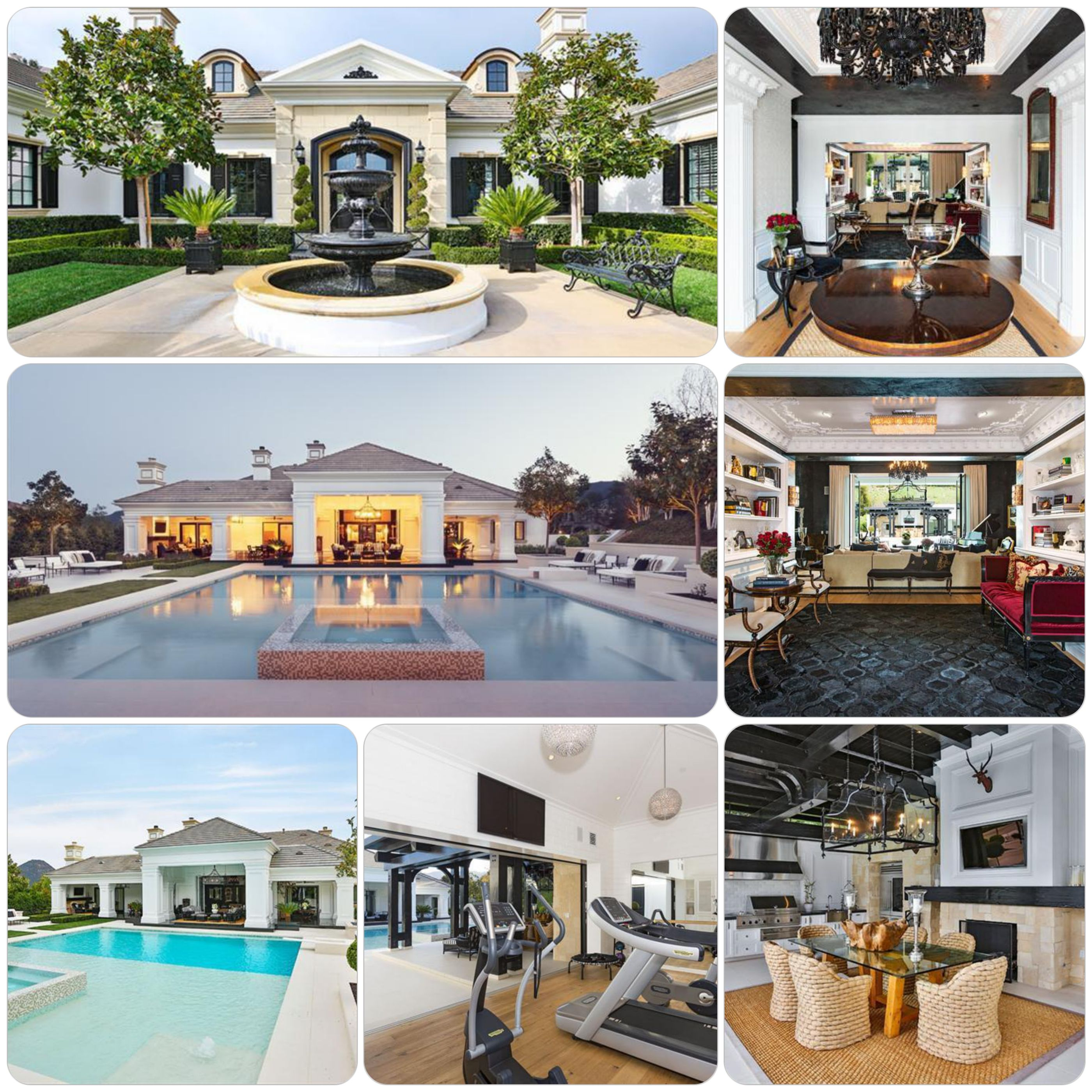 #NHL Icon Wayne Gretzkyu0027s Home At The Sherwood Country Club Features A  Magnificent #pool