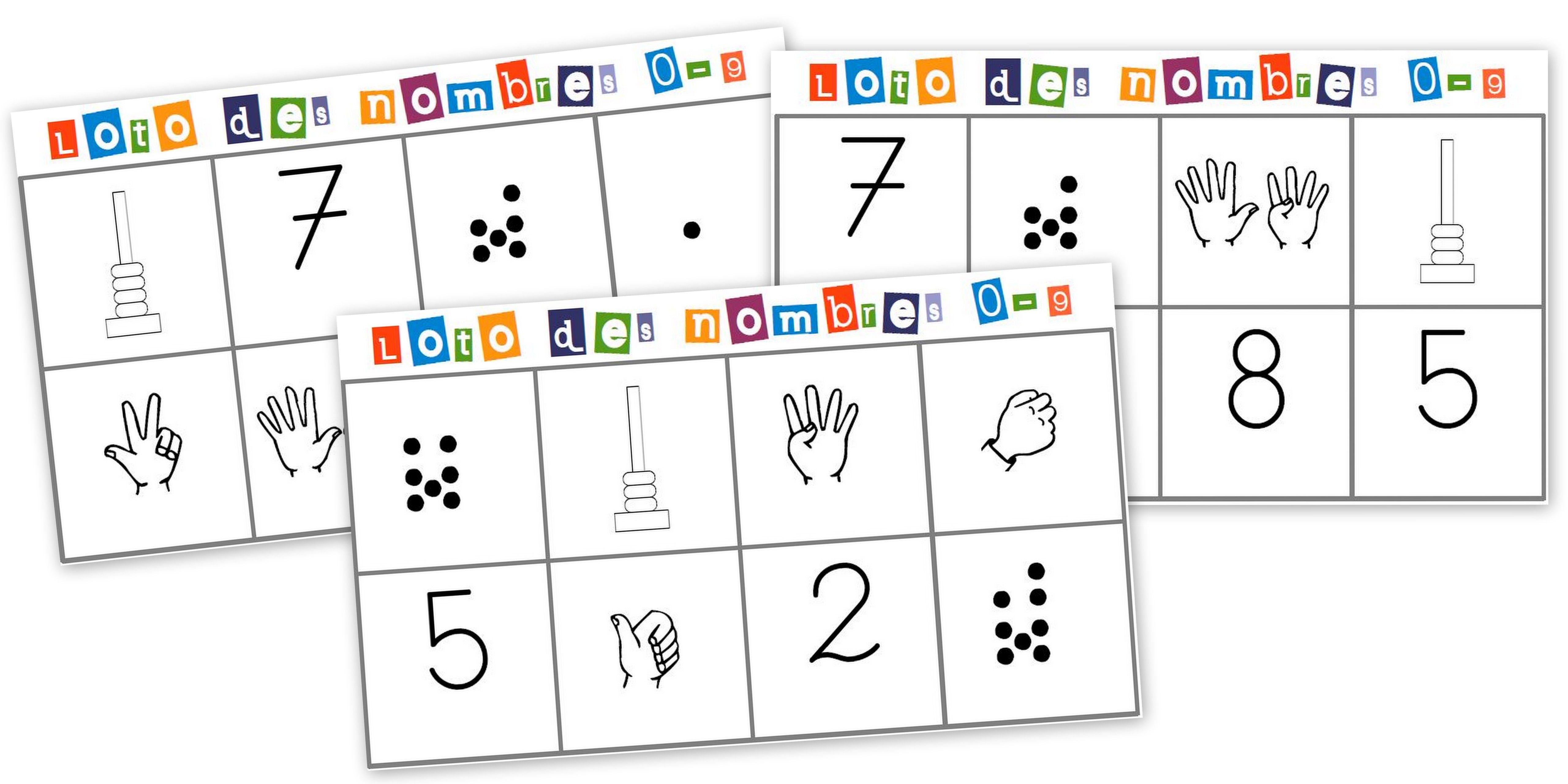 loto des nombres jeu maths construire classroom pinterest jeux maths les nombres. Black Bedroom Furniture Sets. Home Design Ideas