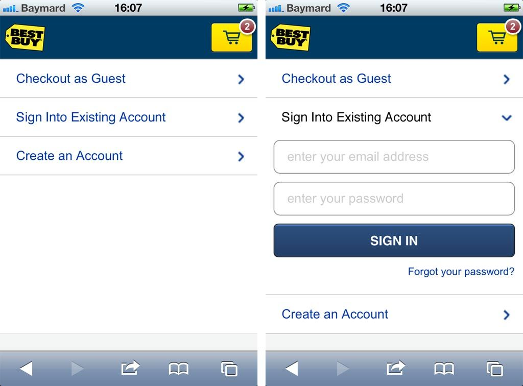6 Mobile Checkout Usability Considerations Cool things