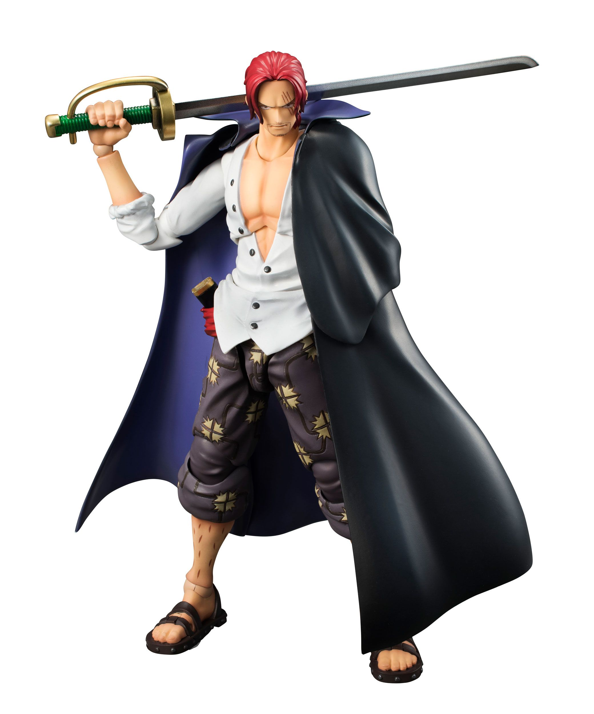 Shanks (One Piece) Variable Action Heroes Actionfigur 19cm