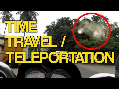 Proof Of Teleportation Time Travel Caught On Video Youtube
