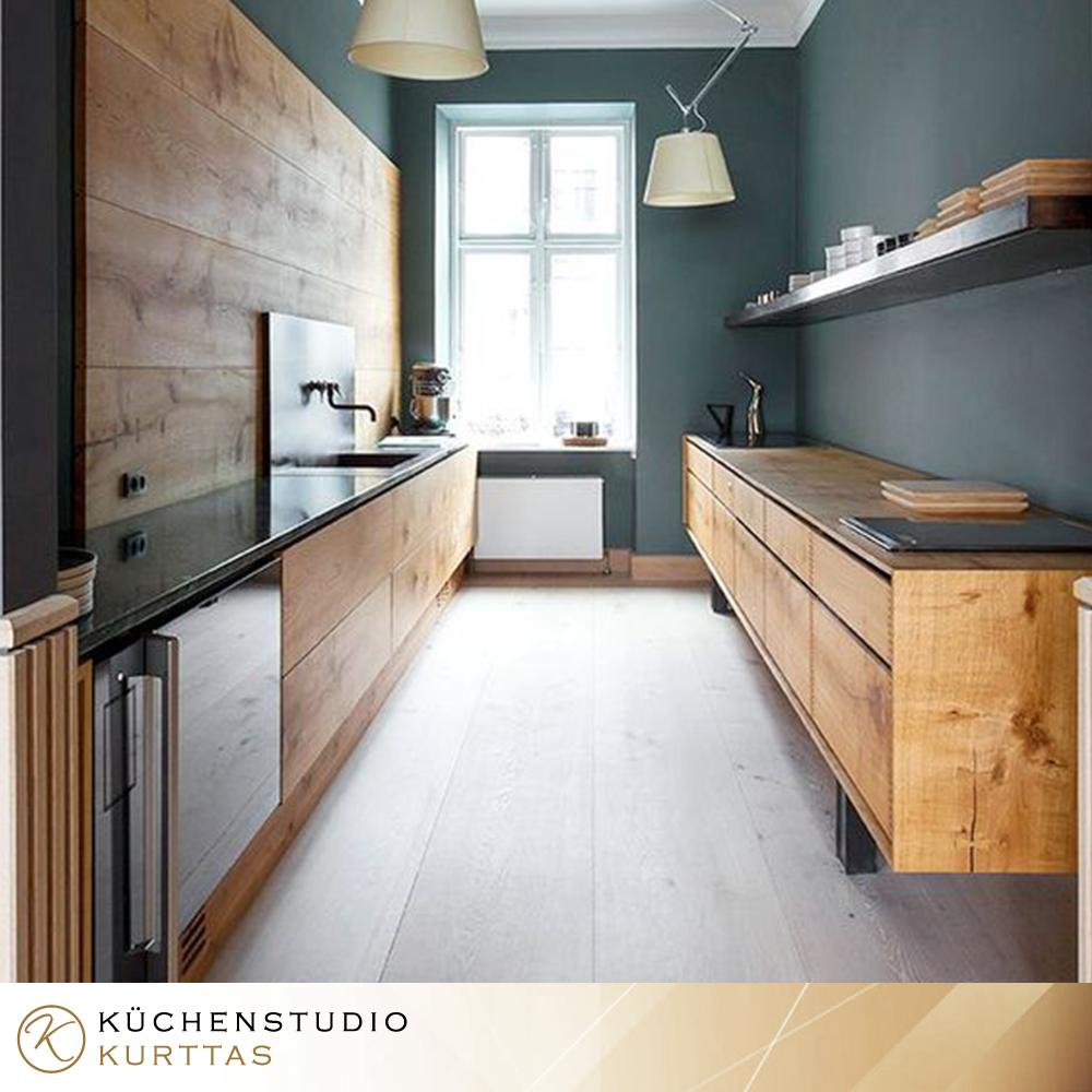 Holzküchendesign von Kurttas... | Küchen design, Küche ...