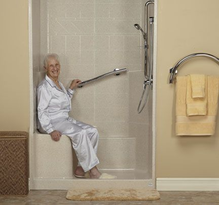 freedom showers | accessible showers | ada showers | easy