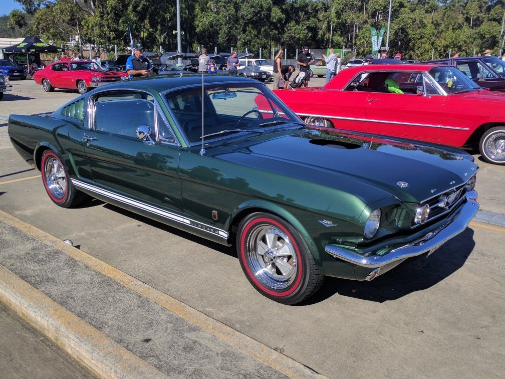 Mustang GT Fastback At All American Muscle Car Show Erina - American muscle car show