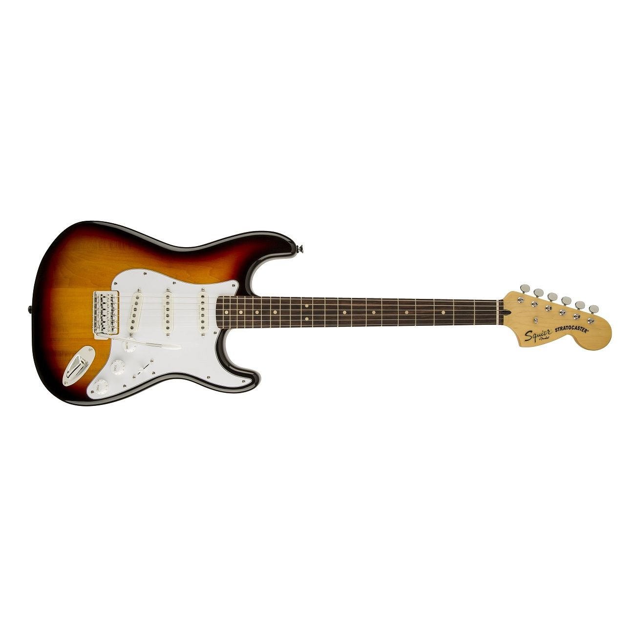 Fender Squier by Vintage Modified Stratocaster Beginner Electric Guitar 3 Color Sunburst