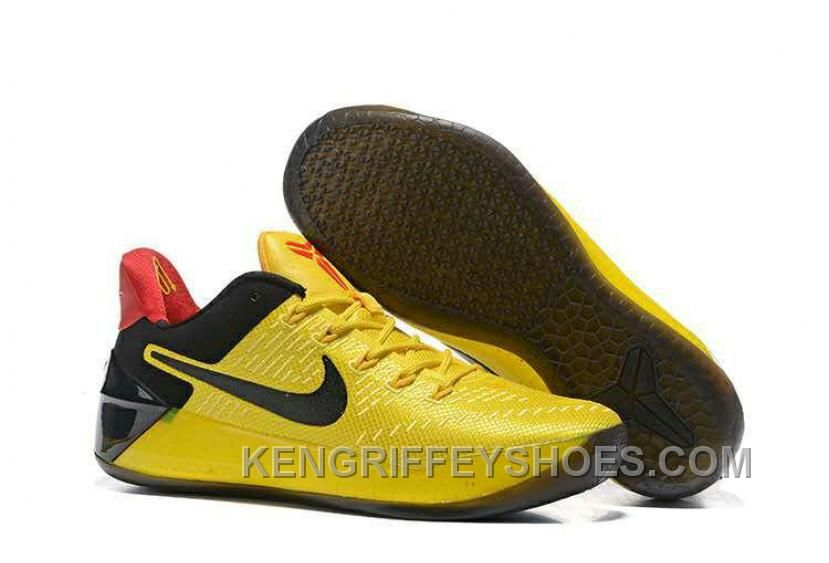6904438c40ac Cheap Nike Kobe A.D. 12 Yellow Black Red Authentic YFcfF