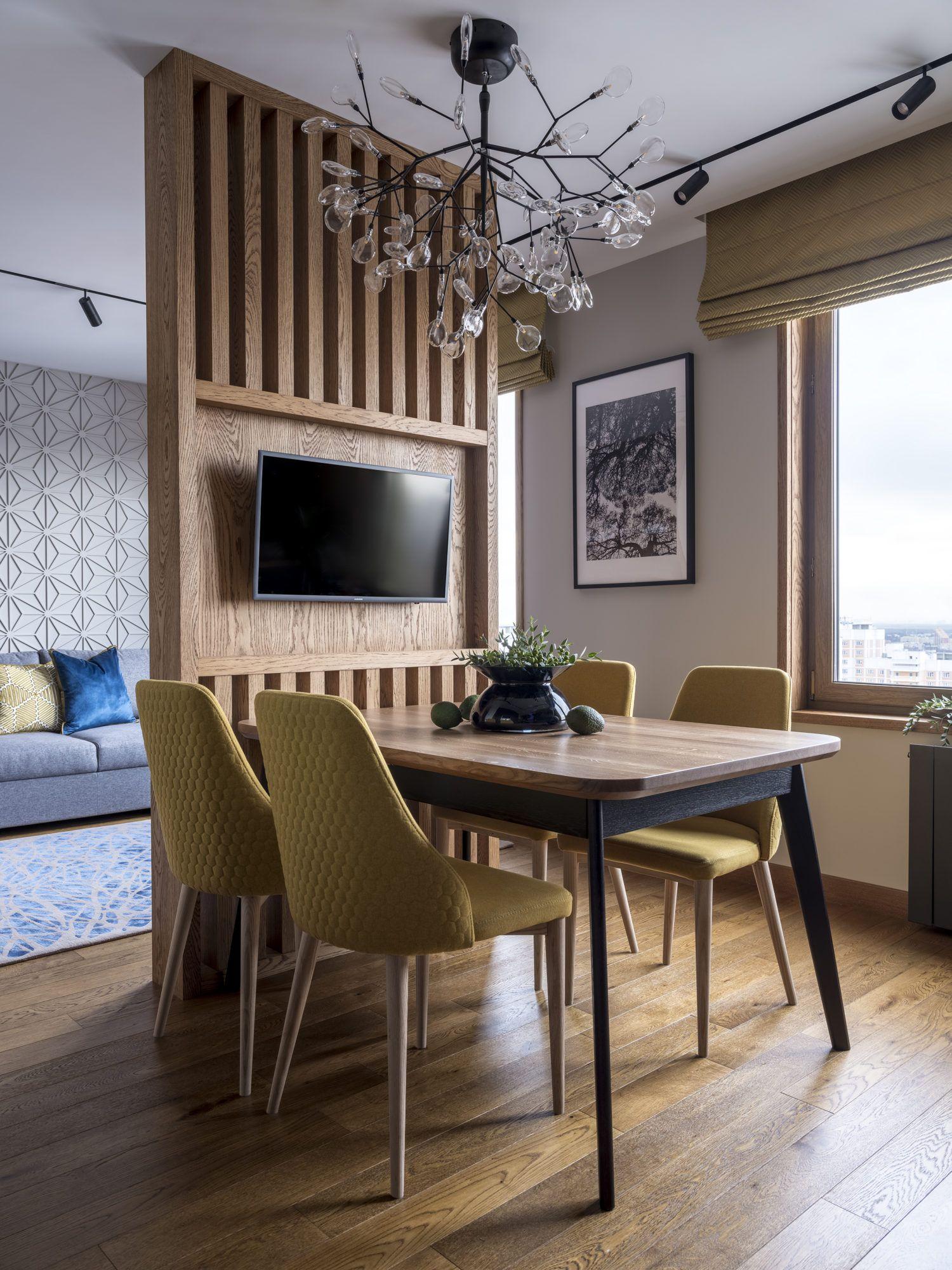 Квартира в Мытищах по проекту Елены Илюхиной, 92 м
