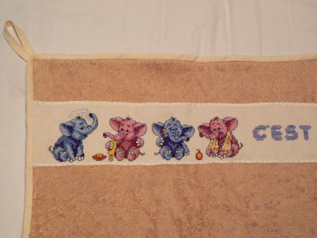 Grille point de croix elephant gratuit cats and dogs - Grilles gratuites point de croix bebe ...