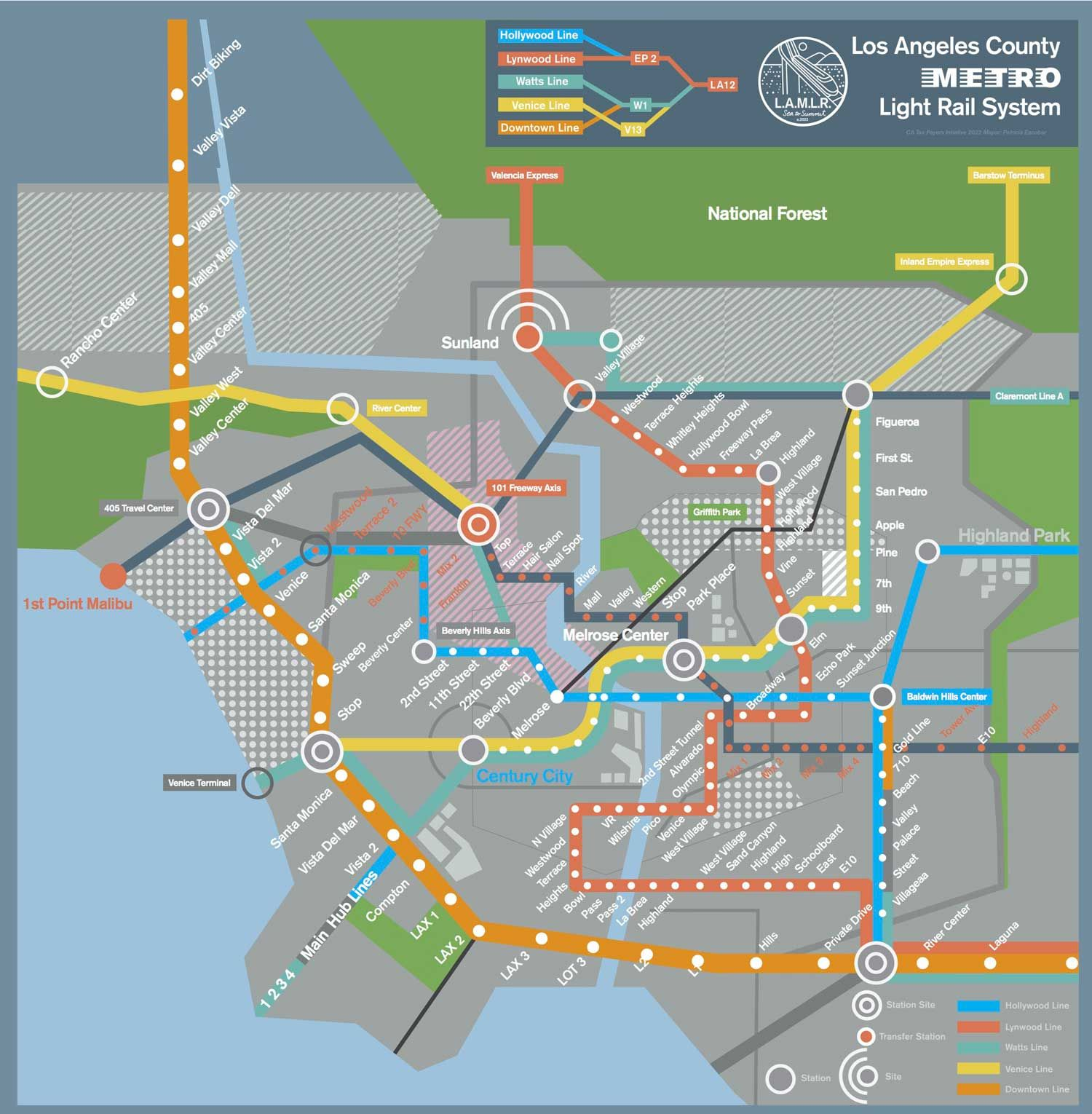 Heres the mindblowing la rail map of the future from her future heres the mindblowing la rail map of the future from her publicscrutiny Images