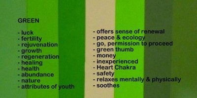 The Meaning Of Colour Green Symbolism Of The Color Green Natural