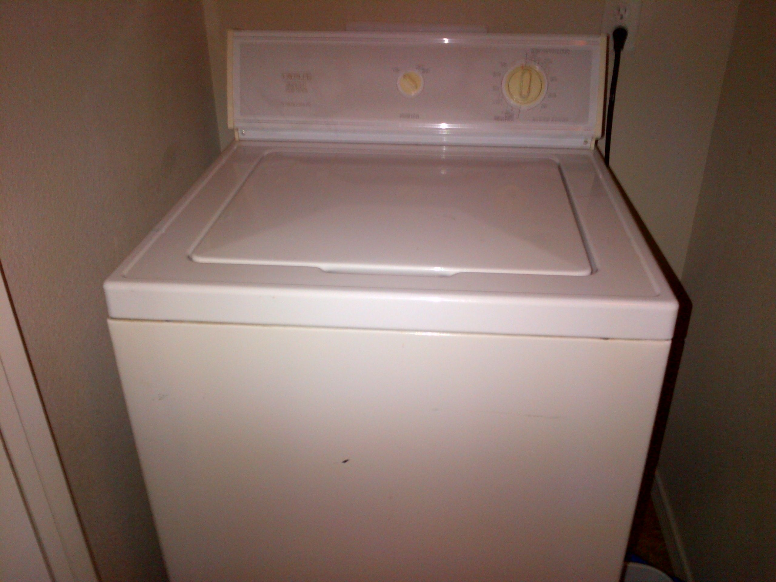 Washer And Dryer Set In Jamie Moving S Garage Hobbs Nm For 200 Crosley Good Condition