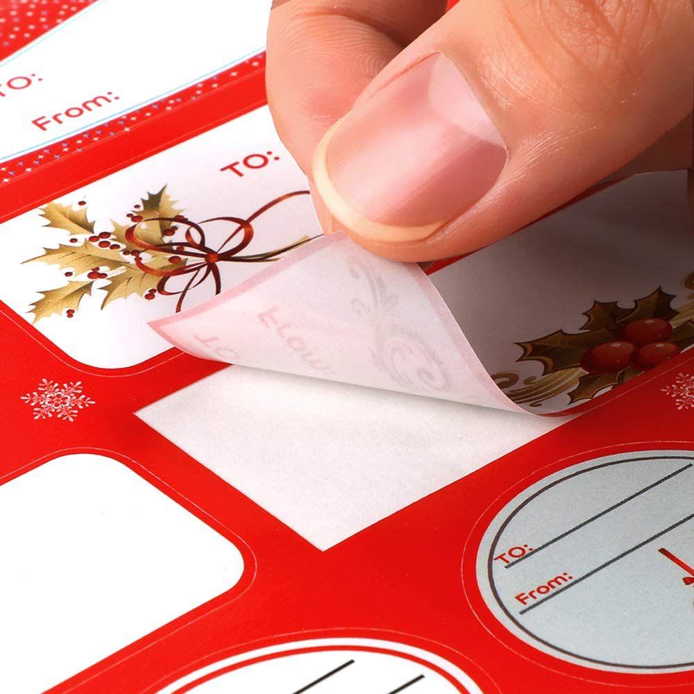 christmas gift labels 156 labels 18sheets konsait christmas name