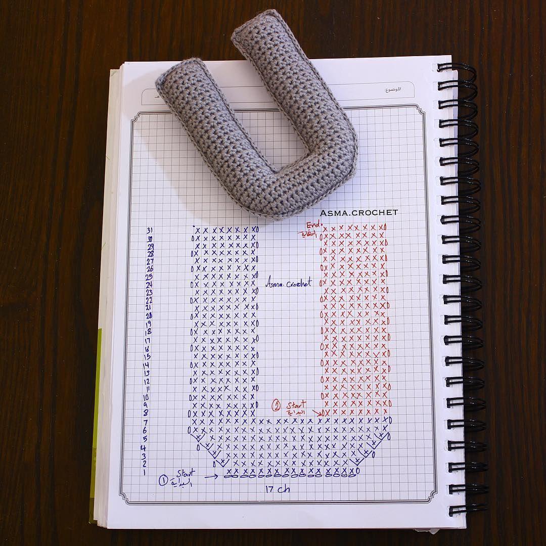 حصر النجاح في طريق واحد يضاعف من خطر الفشل . . #letters_crochet ...
