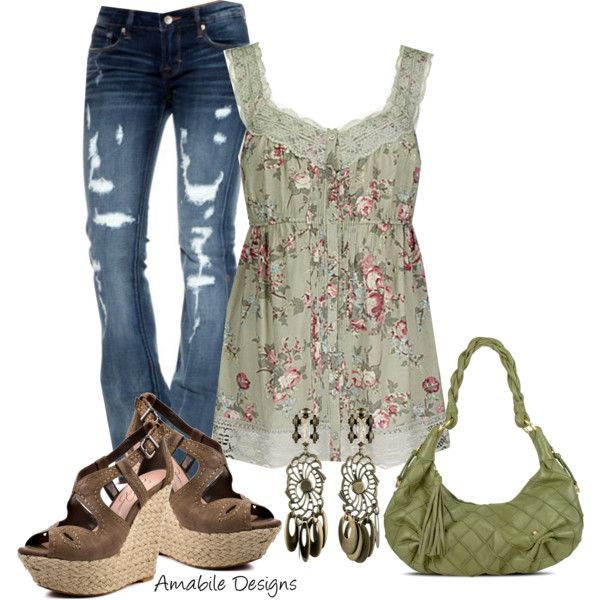 Spring Casual - DanniJo Contest, created by amabiledesigns on Polyvore
