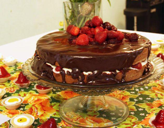 naked cake da Ligia @Ligia Mantovani