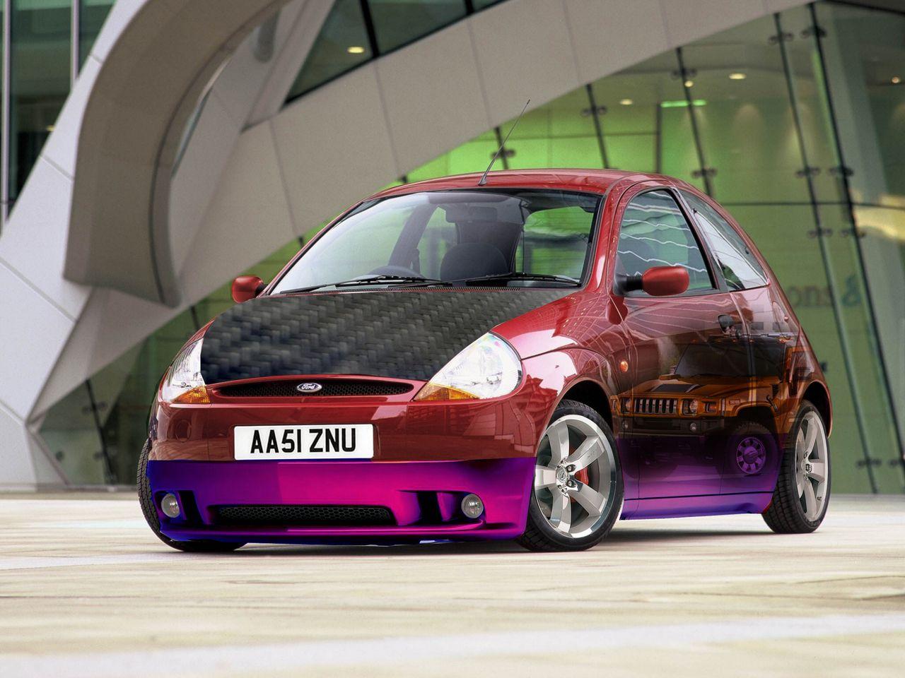 Resultado De Imagem Para Ford Ka Tunado Garagem Dos Sonhos