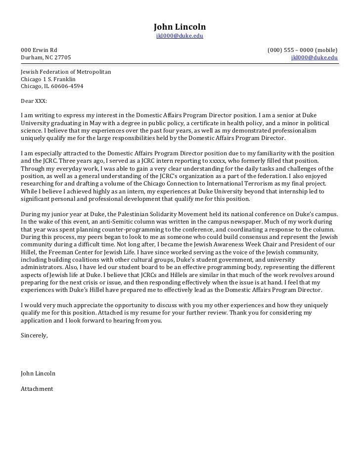 Cover Letter Template Non Profit | Cover Letter Template | Pinterest ...