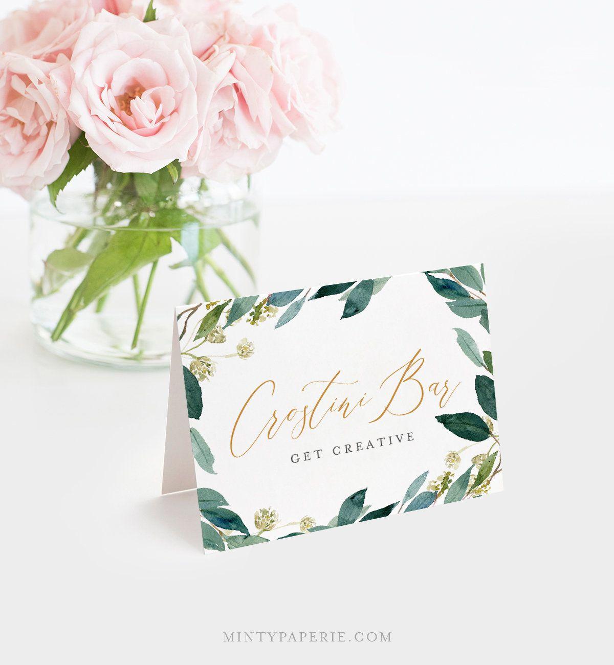 Buffet Card Template Food Label Wedding Buffet Printable Etsy Wedding Buffet Card Template Cards