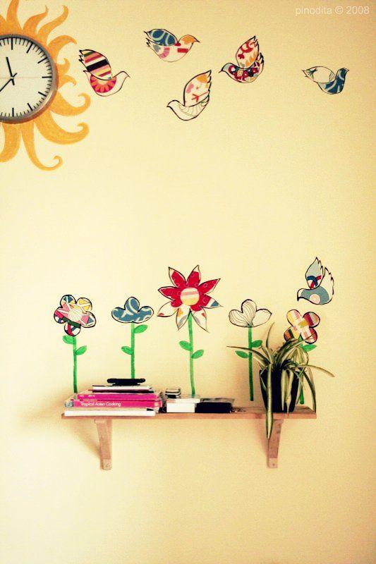 c mo hacer un mural de pared infantil pinterest