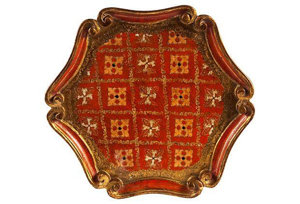 Vintage Florentine Tray II  on OneKingsLane.com