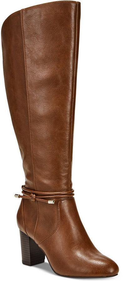 1007a33d60e Alfani Step  N Flex Giliann Wide-Calf Dress Boots