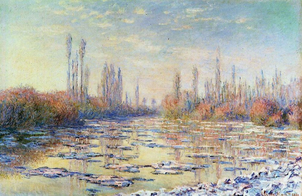 Monet......Ice Floes