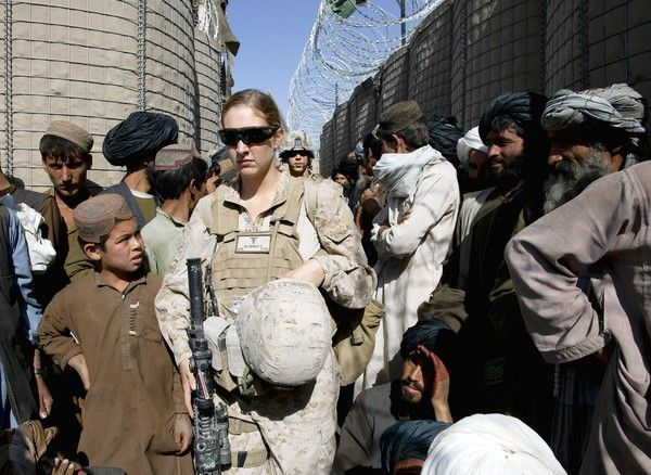 Female navy corpsman