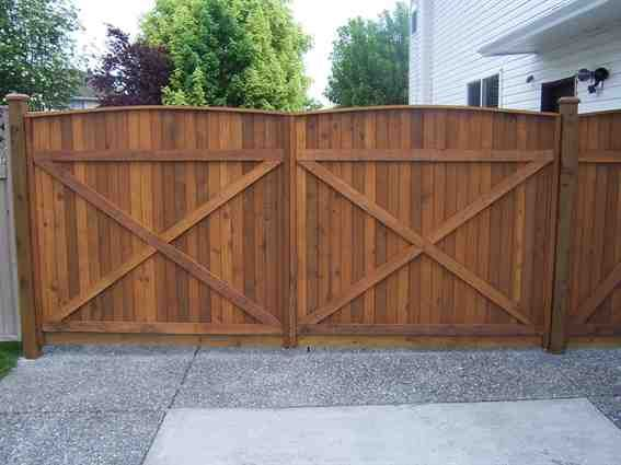 Fence Double Gate Design