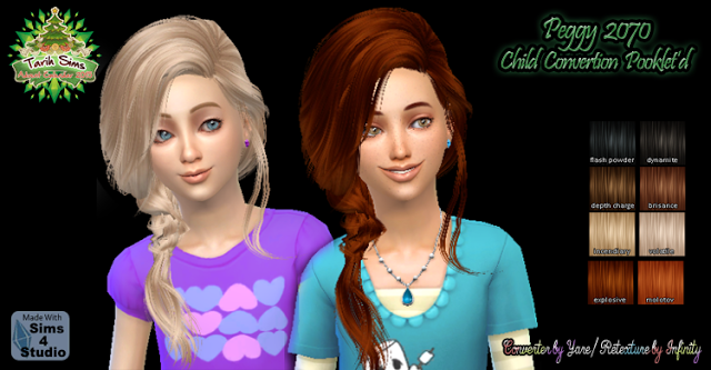 Sims 4 CC's - The Best: Hair for Child by My Sims Stuffs