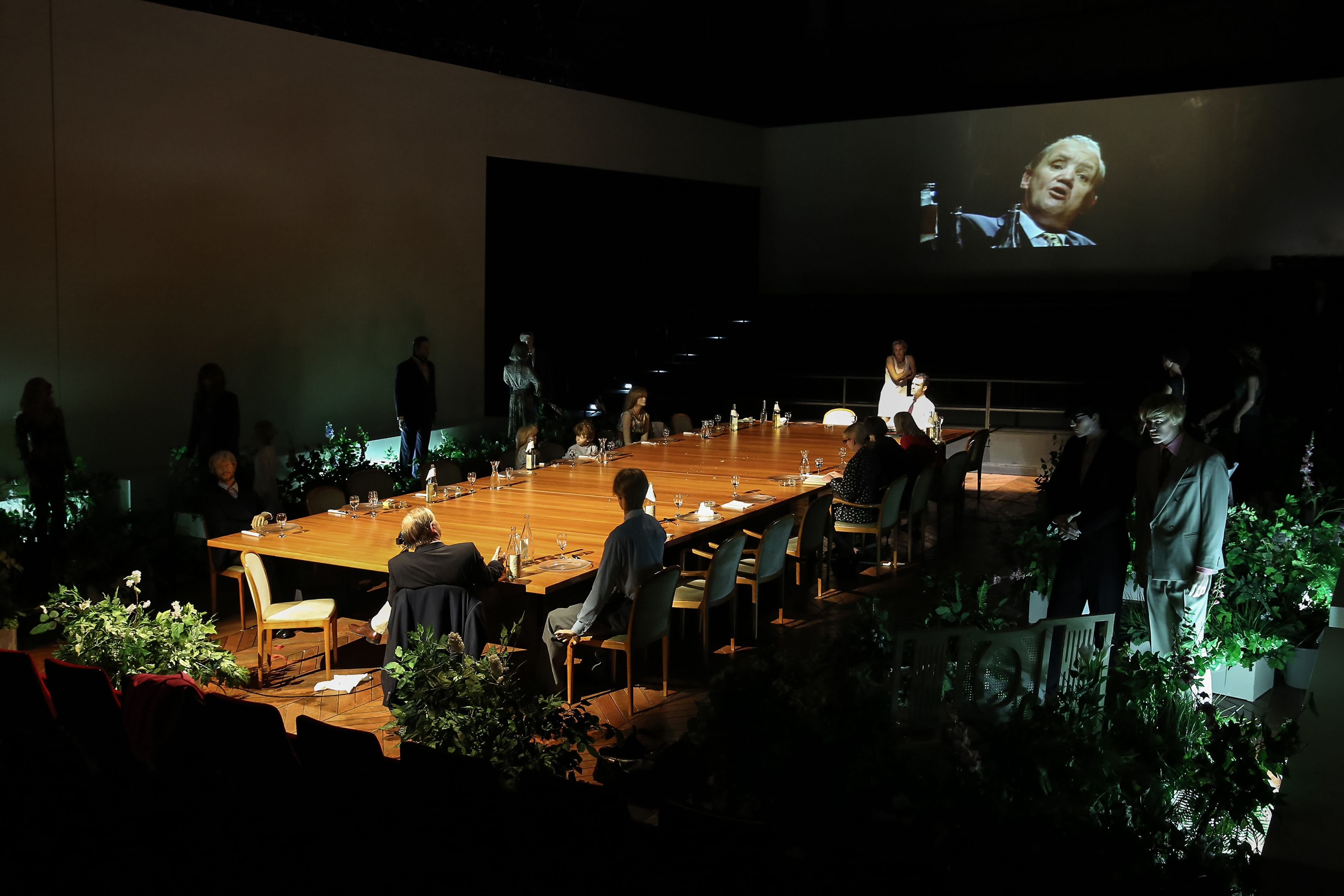 Stagedesign for Thomas Vinterbergs FESTEN/DAS FEST, a play for Theater Bonn, Germany Sebastian Hannak