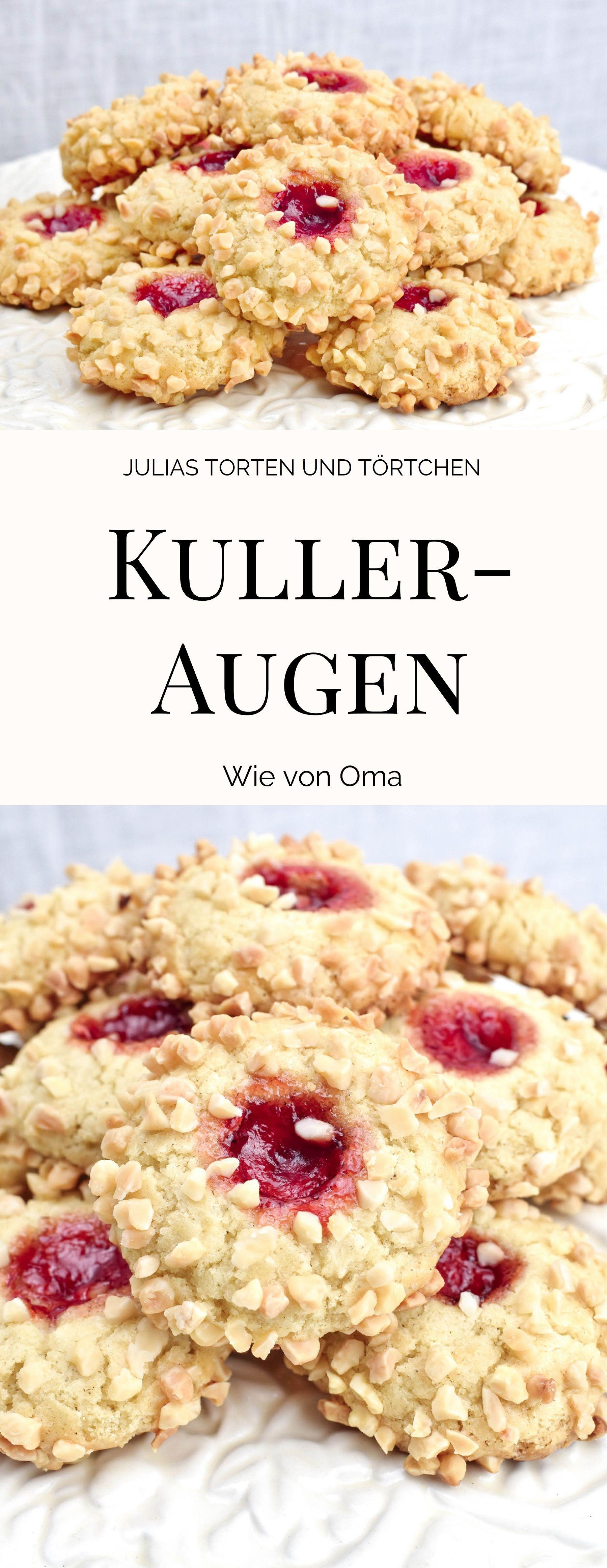 Kulleraugen | Rezepte, Kekse rezept einfach, Plätzchen rezept